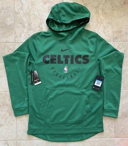 Nike Dri Fit NBA Boston Celtics Engineered Pullover Hoodie Green 934528-312 Sz M