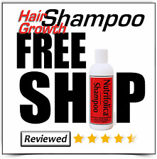 NUTRIFOLICA HAIR LOSS REGROWTH SHAMPOO thin growth regrow product no side effect