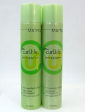 Matrix Curl.Life Defining System Every Weather Hair Spray 2 X 10 oz No Frizz