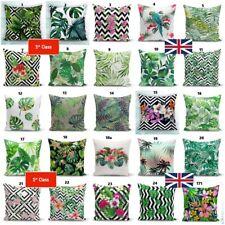 Palm Tree Cactus Leaf Throw Pillow Case Decorative Cushion Cover HomeOutdoor Art