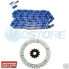 Blue Chain Chain Sprocket 2001-2005 2004 2003 2002 Yamaha YFM660 R Raptor 660