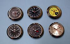 6 x 65mm bezel Premium slim clock inserts.