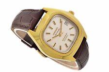 Vintage Longines Admiral L633.2 Chapado en Oro Reloj Automático para Hombre de tamaño mediano 1165