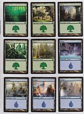 MTG - Return to Ravnica - 1x Complete 25 Card Basic Land Set - NM/MINT