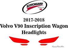3M Scotchgard Paint Protection Film Clear 2017 2018 Volvo V90 Inscription Wagon