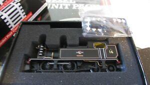KMRC Kernow DJ Models K2102 Adams 02 Isle of Wight No 16 Ventnor 0-4-4 BR Black