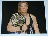 WWE PHOTO PETE DUNNE NXT UK CHAMPIONSHIP BELT WRESTLING 8x10 PROMO