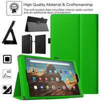 Custodia Per Amazon Fire 7 2019 9th Gen Pelle Smart Stand Libro Flip Alexa Cover