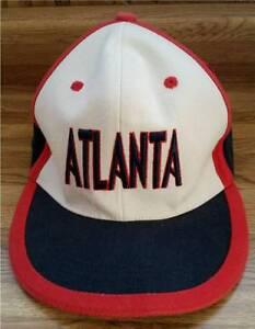 "ATLANTA Braves Ball Cap Hat-Special Design Commemorative 7-1/4"" by Smatch NY"