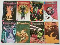 Image-Paradiso #1-8 Complete Series-'A' Cover Set-1st Prints-Ram V