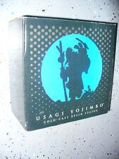 RARE ! Usagi Yojimbo Cold Cast Resin Statue Young Usagi & Katsuichi - dated 2000