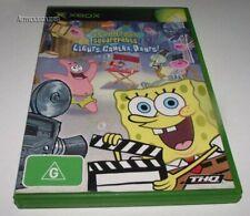 Spongebob Squarepants Lights Camera Pants Xbox Original PAL *No Manual*