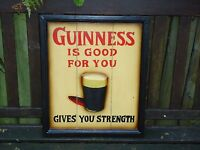 Guinness Wooden Picture plaque 3 D Sign    Pub Drink Beer Bar Man Cave Nice Gift