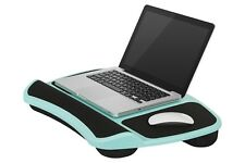 Laptop Table Lap Desk Stand Computer Notebook Tray Portable Cushion Durable Blue