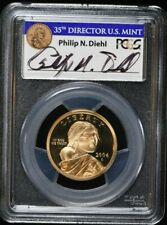 Signed 2004-S PCGS PR69DCAM SACAGEWEA $1 GOLDEN DOLLAR 99c NO RESERVE