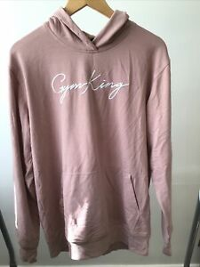 GYM KING Woman's Pink Hoodie Size 8 Oversized £25
