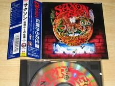 SAXON-Forever free CD with obi japan ver.TECX-25418 [ near MINT ]