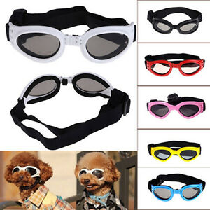 Fashionable Pet Dog Doggles Goggles Sunglasses Eye Wear Protected Multi-Color .