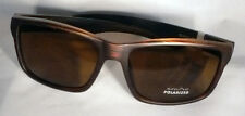Suncloud Mayor Sunglasses - Burnished Brown/Brown Polarized - Free Case and Ship