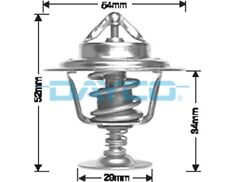 Thermostat for Daimler Double Six Oct 1993 to Oct 1997 DT18A