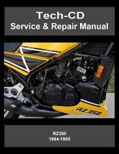 rz350 in manuals literature ebay rh ebay ca yamaha rz350 service manual pdf yamaha rz350 owners manual
