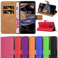 For Nokia 7 Plus Phone Case Luxury Leather Magnetic Flip Stand View Wallet Cover