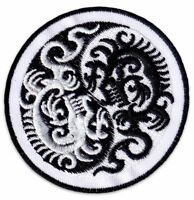 Aufnäher Gr Drachen Tattoo ca 11,5 x 6 cm 04623 Patches Stick  ...