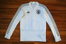 SIZE XS GERMANY NATIONAL TEAM ADIDAS TRAINING TOP JACKET 2018-2019 CY7204 WHITE