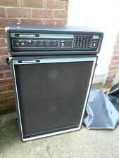 More details for acoustic control corp 120 bass amp head and 402 cabinet  2x15 (with covers)