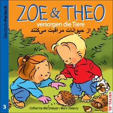 ZOE & THEO versorgen die Tiere - zweisprachiges Kinderbuch - deutsch   persisch