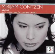 FREE US SHIP. on ANY 3+ CDs! ~Used,Good CD Mirijam Contzen: Mirijam Contzen: Sol