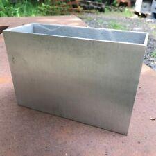 18cm CLEARANCE Small Aluminium Long Trough Home/Garden Planter/Metal Pot