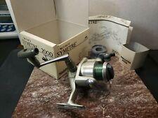 Shimano Symetre 2000 AERO Spinning Reel w/extra spool. Made in Japan