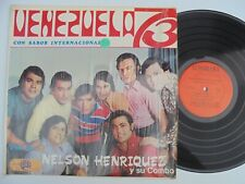 NELSON HENRIQUEZ Vanezuela 73 AUDIORAMA Latin Salsa Guaguanco LP HEAR