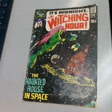 WITCHING HOUR 14 Bronze Age Dc  1971 AL WILLIAMSON NEAL ADAMS horror scifi COVER