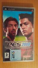 Pes 2008 . Pro Evolution Soccer 2008 . Konami  . PSP Portable . España