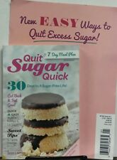 Quit Sugar Quick No 1 New Easy Ways to Quit Excess Sugar FREE SHIPPING sb