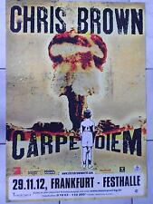 Chris Brown 2012 Original Concert-Concert-Poster 84 x 60 cm