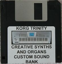 "Korg Trinity  ""Creative Synths and Organs"" Custom programmed sound bank"
