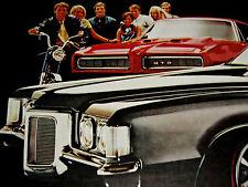 1969 PONTIAC GRAND PRIX SJ ORIGINAL AD-400/428 V8 engine/heads/block/emblem/GTO