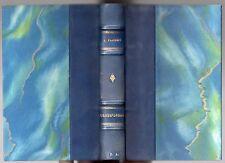 GUSTAVE FLAUBERT CORRESPONDANCE 1850-1854 RELIE DEMI-CUIR 1927 LOUISE COLET