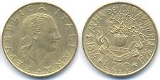 REPUBBLICA ITALIANA 200 LIRE 1994 no argento
