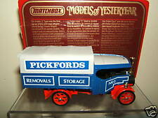 "MATCHBOX MODELS OF YESTERYEAR Y-27  1922 FODEN STEAM  ""PICKFORDS""  WAGON  MIB"