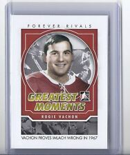 2012-13 IN THE GAME FOREVER RIVALS ROGIE VACHON ITG GREATEST MOMENTS #