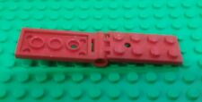 *NEW* Lego Red Flat 2x4 Flat Interlock Hinges Rare 2x8 Swivels Plates 1 piece