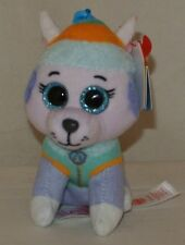 New! 2018 Summer Release Ty Beanie Boos EVEREST - PAW PATROL Key Clip Size