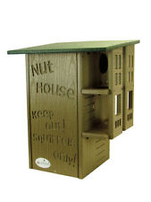 Jcs Wildlife Ultimate Squirrel House Nesting Box Green & Tan - Free Shipping