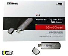 Edimax EW-7318UG WIFI WLAN USB Stick Adapter 54 Mbit/s 802.11b/g