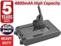 Battery For Dyson V8 Absolute 21.6V 4800mAh Cordless Vacuum Cleaner Li-ion SV10