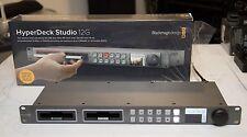 Blackmagic Design HyperDeck Studio 12G 4K/UHD/HD SSD SDI/HDMI Video Recorder EXC